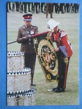 POSTCARD ROYAL REGT OF WALES (24TH/41ST FOOT) 300TH ANNIV PARADE CARDIFF 1989  U