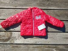 Nwt Disney Red Puffer Jacket Lightweight size 2T
