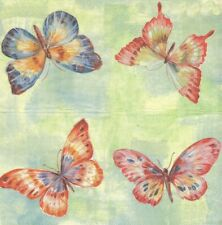 Lot de 2 Serviettes en papier Papillon Decoupage Collage Decopatch