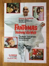 Fantomas bedroht die Welt (Kinoplakat '67) - Jean Marais / Louis de Funès