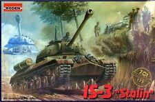 1/72  WWII Soviet Tank IS-3 Stalin Roden 701 Models kits