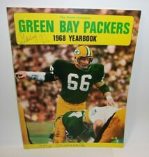 World Champion Green Bay Packers 1968 vintage Yearbook  T*