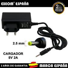 Cargador Para Tablet Pc Android Adaptador Corriente Cargador 5V 2A Marca España