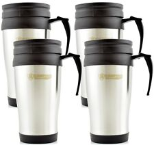 4x Thermo Insulating Mug Stainless Steel Coffee Mug Coffee Mug Thermo Cup 450 ML