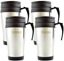 4x Thermo Isolierbecher Edelstahl Kaffee Becher Kaffeebecher Thermobecher 450 ml