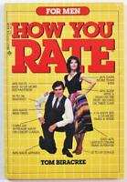 For Men How Do You Rate by Tom Biracree 1984 Dell 53809 PB Book