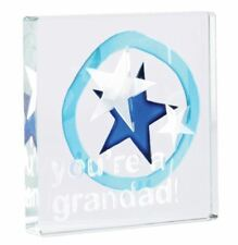 Spaceform Miniature Glass Token Grandad Keepsake Newborn Gift For Grandfather