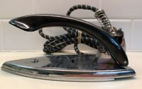 Vintage GE General ELECTRIC TRAVEL IRON 139F18 1950's EUC Works