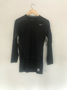 Nike Pro Combat Dri-Fit Compression Long Sleeve Black Base Layer XL Baselayer