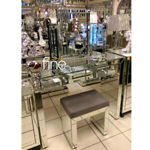Mirrored Dressing Table Set - FREE DELIVERY AVAILABLE!