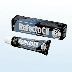 RefectoCil A/W-Farbe 2 blauschwarz 15 ml Augenbrauenfarbe Wimpernfarbe