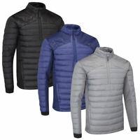 Stuburt Mens Evolve-Sport Half Zip Padded Windproof Pullover Jacket Top