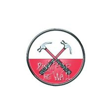 Pink Floyd Official The Wall Hammers Logo Round Metal Enamel Pin Badge