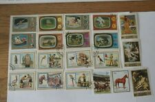 Rjkstamps Lot Fujeira stamps Boy Scouts, Space, Horses, Nudes Cto cancel