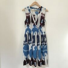 Lee Mathews Womens Dress, Size 2 Linen Spring