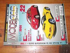 $$$ Revue Model Car Magazine N°22 New Beetle & Classe AViperPeugeot 406 coup