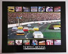 VTG North Carolina Motorsports Capitol of the World Poster NASCAR Drag Dirt Film