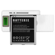 Caricabatterie Universale Smartphone Spia LED + Entrata USB - Bianco