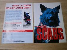 THE SCABS  - DOG DAY ARE OVER  !!!!!VINTAGE FRENCH PRESS ADVERT