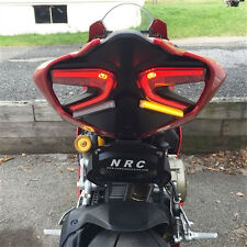 Ducati 959 Panigale Fender Eliminator Kit LED Flush Turn Signal Bar