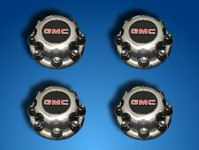 GMC center cap hubcap 1500HD 2500 3500 Yukon XL chrome wheel 5079 SET OF 4