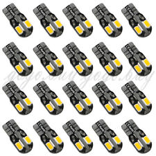 20 x Canbus T10 194 168 W5W 5730 8 LED SMD Warm White Car Side Wedge Light Bulb