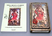 SOLA BUSCA TRUMPS TAROT BOOK & CARD DECK SET LTD. EDITION - NIB - MENEGHELLO