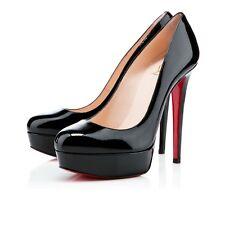 Christian Louboutin Bianca 140 Black Patent Leather