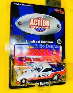 NHRA 1:64 ARMY Diecast SNAKE Top Fuel NITRO Funny Car DON PRUDHOMME Monza