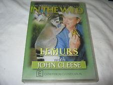 IN THE WILD - LEMURS - WITH JOHN CLEESE - WILDLIFE SERIES - DVD RARE REGION 4
