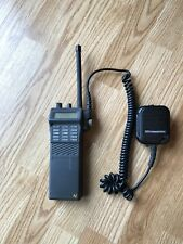M/A - Com Ericsson PK2HGC Portable Radio Untested With Hand Mic Accessory