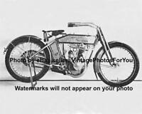 Nice Old/Antique/Vintage/1913 Harley Davidson 9b/Nine B Motorcycle Photo/Picture