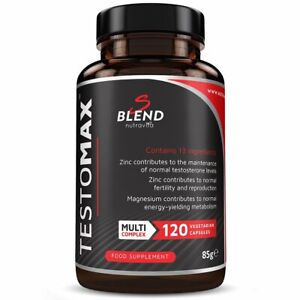 TESTOMAX - Testosterone Booster for Men - Energy Training Muscle Growth Strength