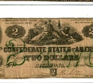 "$2 ""GREEN PRINT"" (VIOLENT SCENE) ""SLAYER NOTE"" 1800'S $2 ""GREEN PRINT"" RARE!!!!"