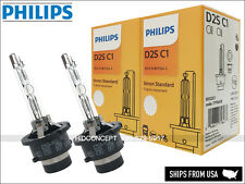 New! 2x PHILIPS D2S 4300K HID XENON BULBS in Retail Boxes w/COA Pair GERMANY OEM