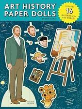 Art History Paper Dolls by Kyle Hilton (2014, Paperback)