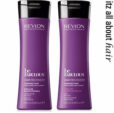 Revlon Professional Be Fabulous Damaged Hair Recovery C.R.E.A.M Sham Cond Duo