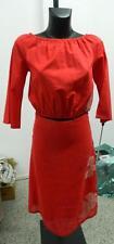 completo gonna e top colore rosso GAS oma151