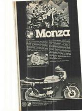PUCH MONZA 4 SL --- Annonce - vintage advert - historische Reklame  Werbeseite