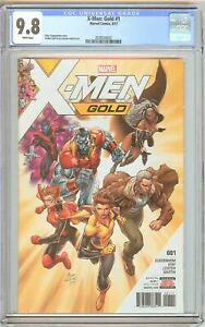 X-Men: Gold #1 CGC 9.8 White Pages (2017) 2078530022