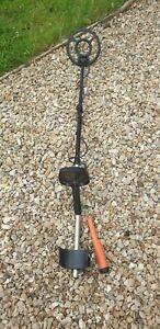 Teknetics Eurotek Pro Metal Detector, Deteknix Orange Pinpointer Used