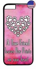 Paw Paws Print Animal Pet Love Quote Case Cover For Apple iPhone 7 / 7 plus