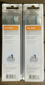 Lot Of 2 Phillips Sonicare For Kids 2-Pack Replacement Toothbrush Heads HX6032