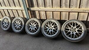 Audi BBS 18x8 ET32 RX 207 Genuine Alloy Wheels x5. Priced to sell.