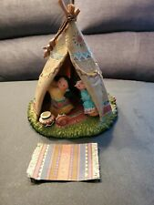 """Friends of the Feather Teepee 7"""" tall 7"""" wide #771953 Night Light Teepee"""