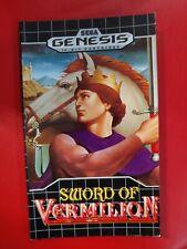Sword of Vermillion Hint Book