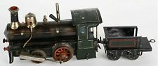 ca1920s LIVE STEAM ENGINE RAILROAD LOCOMOTIVE AND TENDER By GEBRUDER BING