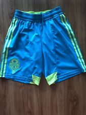 Adidas Seattle Sounders Mens Soccer Shorts Size Small