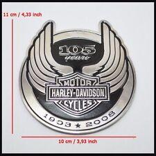 Part For Harley Davidson 105th Anniversary 3D Metal Emblem / Medallion