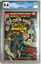 Marvel Team-Up #15 -> Spider-Man Ghost Rider 1st app Orb -> CGC 9.4